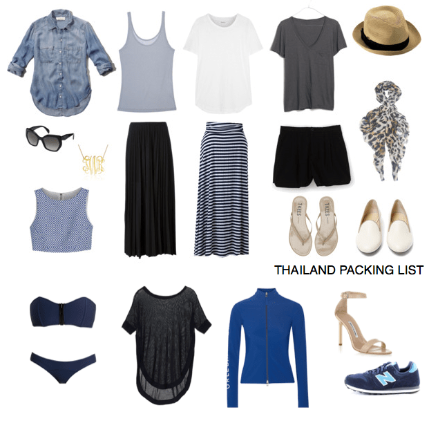 Packing List 2 Weeks In Thailand Feathers And Stripes