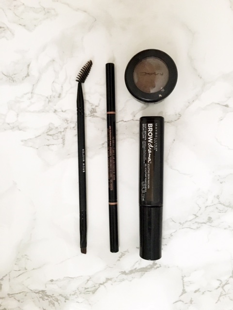 Eyebrow beauty tools and the best eyebrow products on a budget (under $10) // feathersandstripes.com