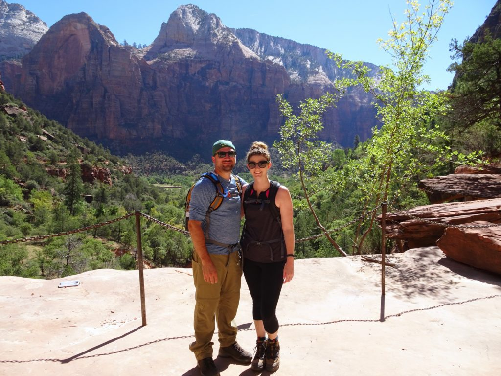 hiking Zion National Park for beginners