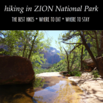 Utah Itinerary: Zion National Park