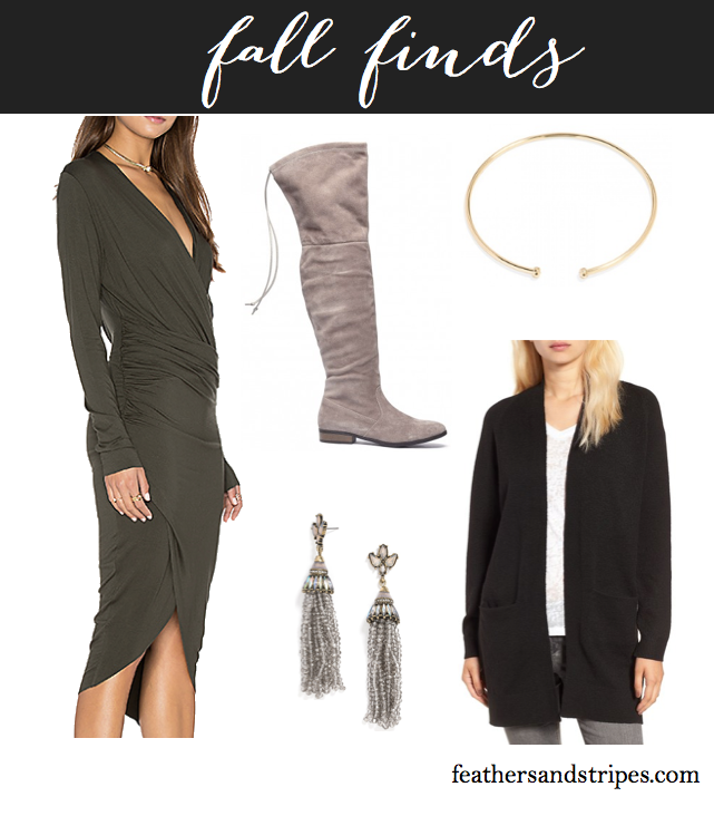 Fall purchases from Nordstrom, Revolve, Sole Society, & Baublebar // feathersandstripes.com