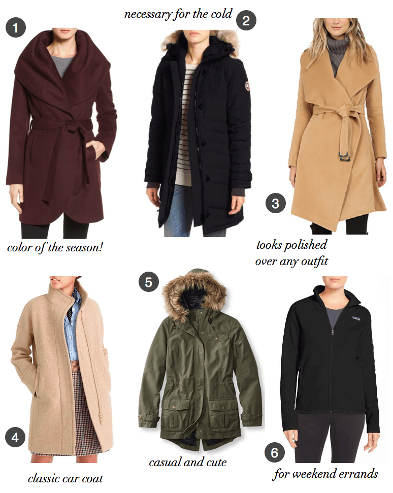 winter coats for New England winters
