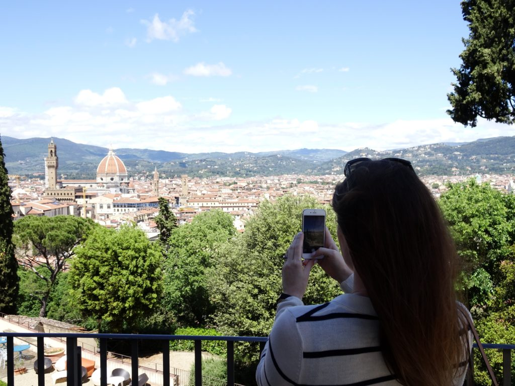 traveling Florence, Italy