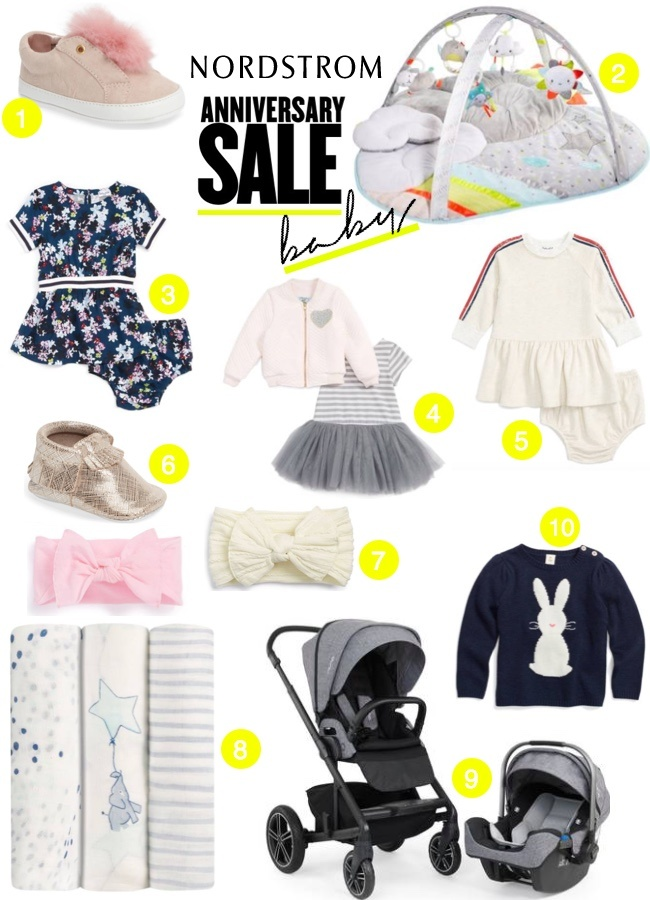 Nordstrom Anniversary Sale 2017: Best Baby Picks