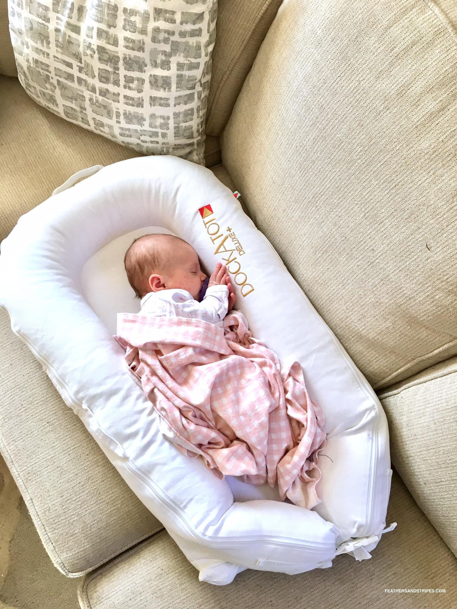 getting baby to sleep in the afternoon + a DockATot review!