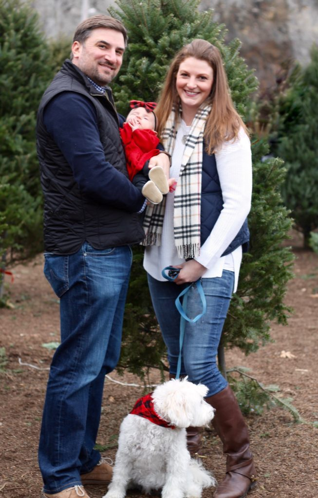 Merry Christmas from my family to yours! Alyssa of Feathersandstripes.com