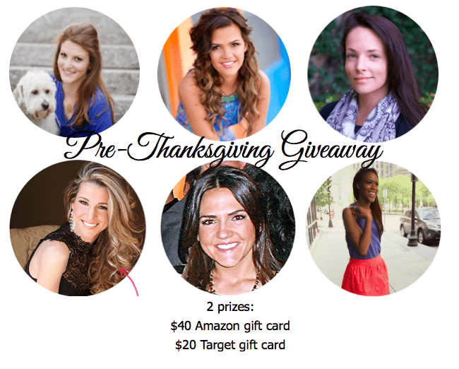 Pre-Thanksgiving Giveaway