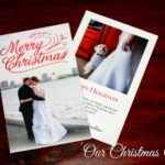 Our First Married Christmas Card