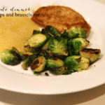 20 Minute Dinner: Pork Chops and Brussels Sprouts