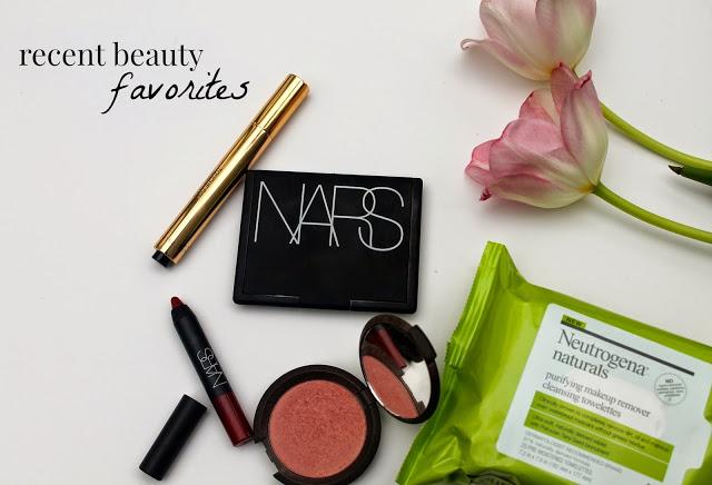 Recent Beauty Favorites