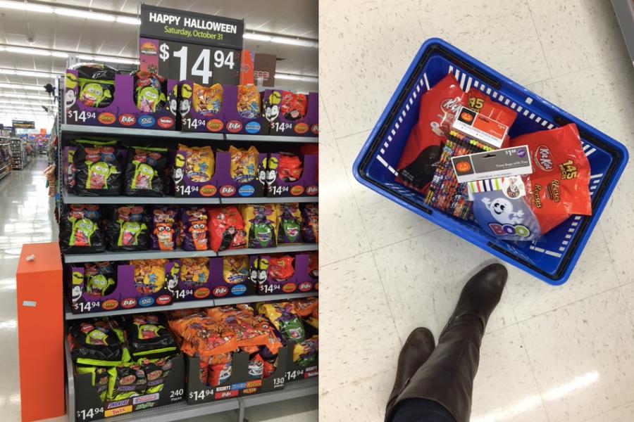 Halloween at Walmart