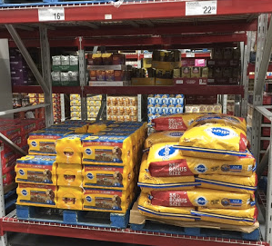 Pedigree dog food at Sam's Club
