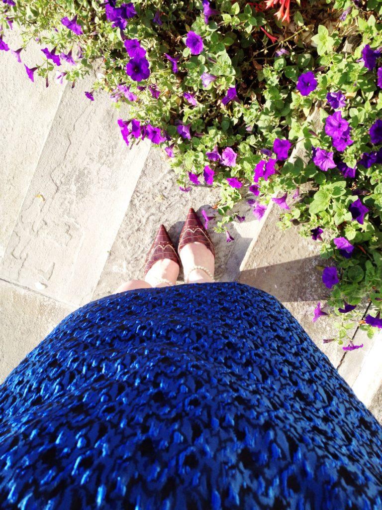 Erin Fetherston blue dress