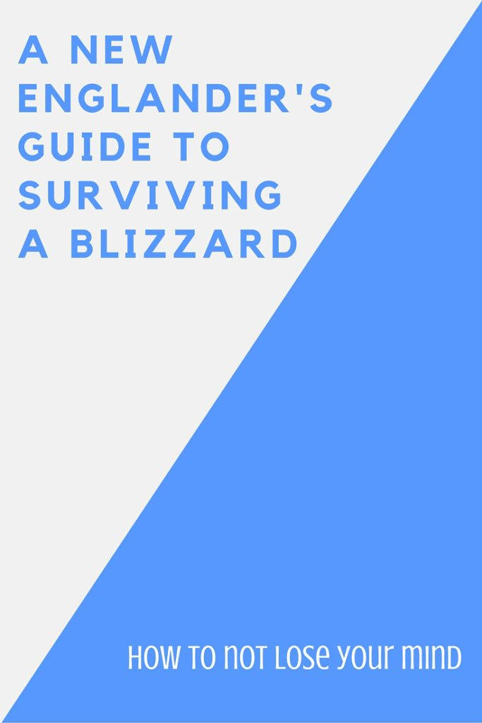 how to survive a blizzard