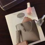 Swoon-worthy monogrammed bag