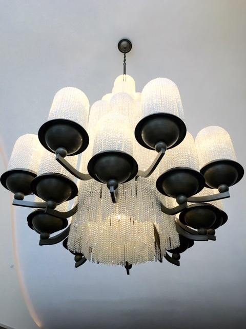 huge chandelier