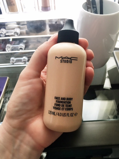 Mac foundation face and body