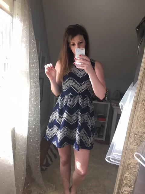 Target navy dress