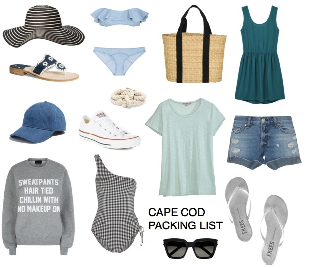 Packing List: 1 Week on Cape Cod