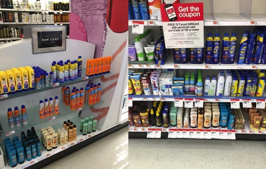 Hawaiian Tropic at Target