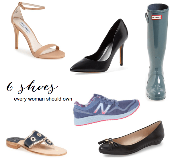 6 shoes every woman needs // feathersandstripes.com
