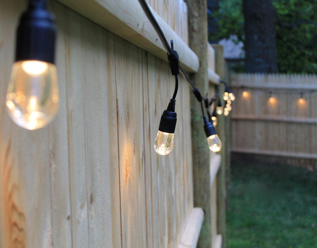 Backyard Cafe Lights