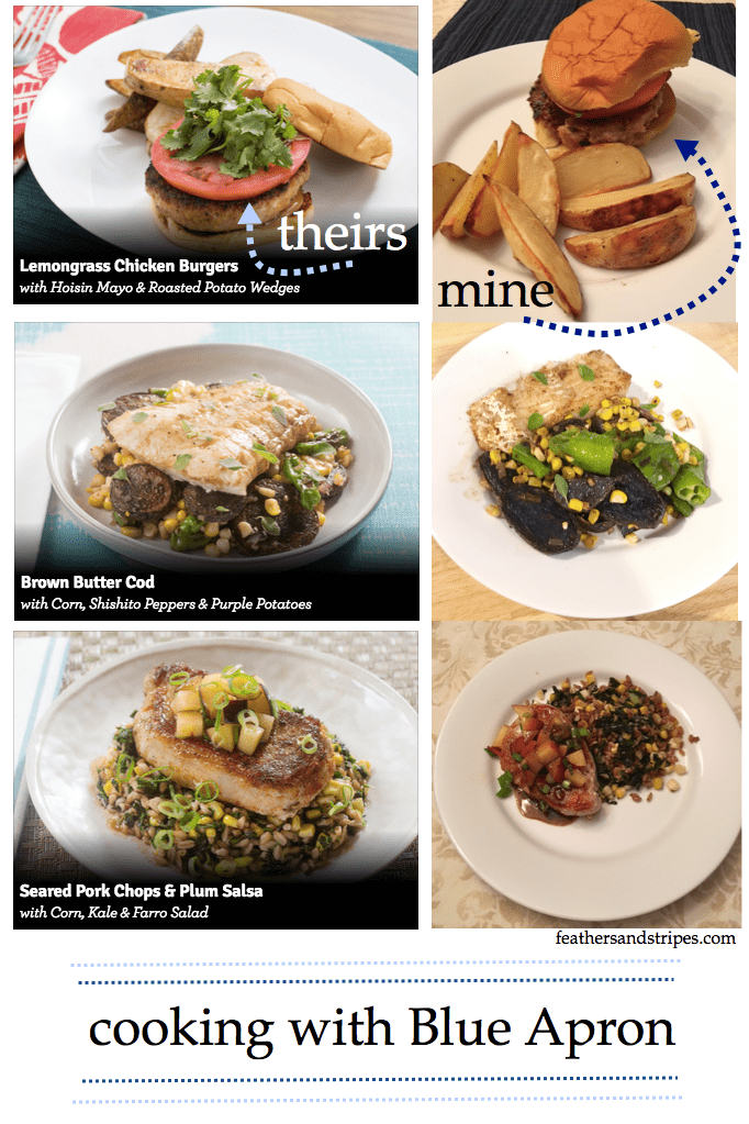 Blue Apron first week