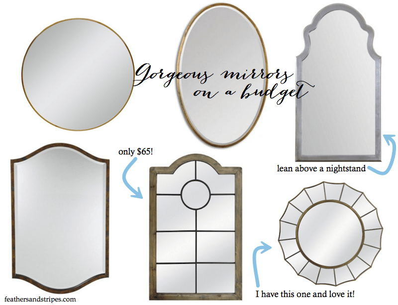 Mirrors on a budget