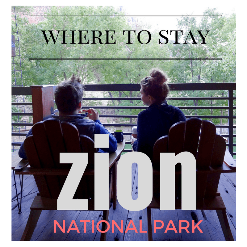 where to stay for Zion and Bryce // feathersandstripes.com