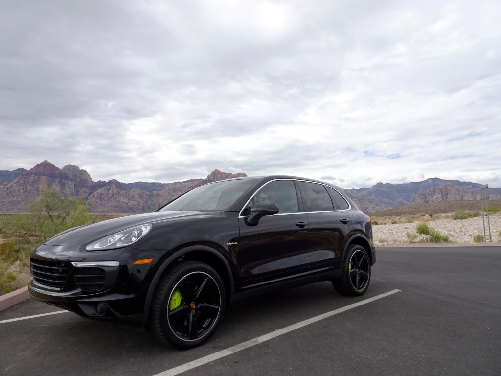 test driving the Porsche Cayenne SUV featured by top Boston travel blog, Feathers and Stripes