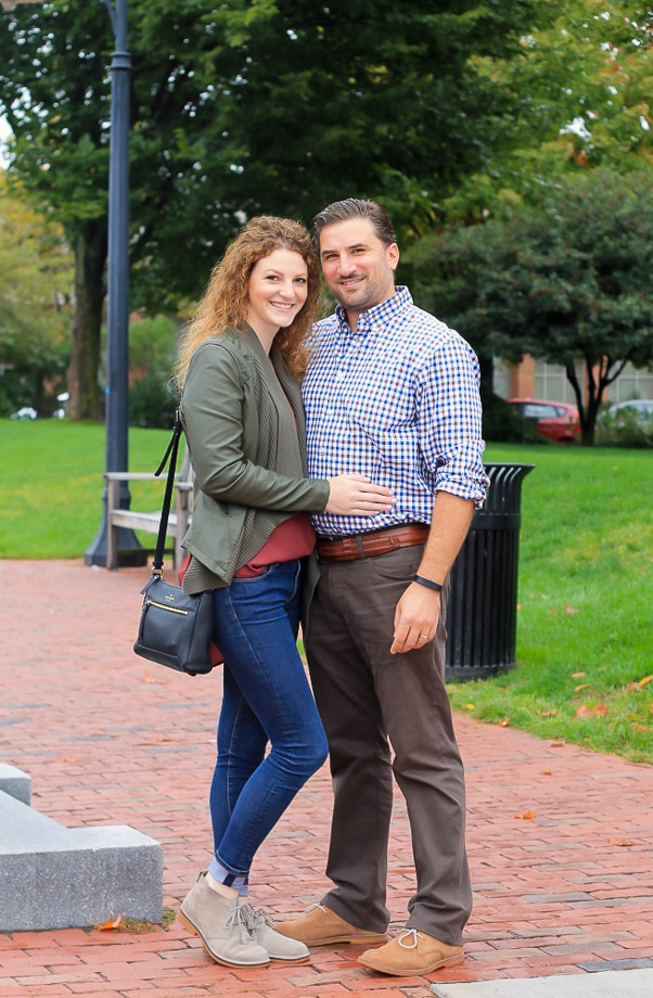 his and hers casual style with Hush Puppies // feathersandstripes.com