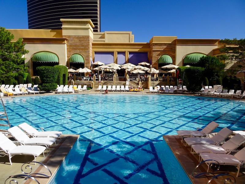Wynn pool Las Vegas hotel