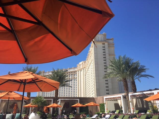 Mandarin Oriental Hotel Las Vegas review featured by top Boston travel blog, Feathers and Stripes