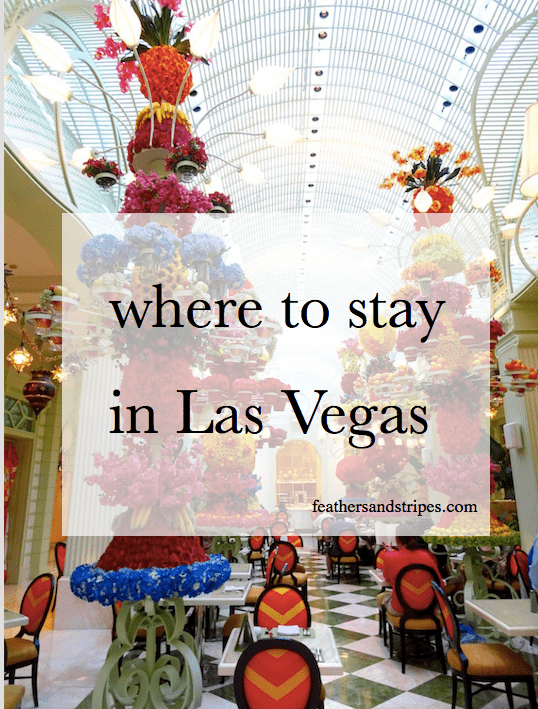where to stay in Las Vegas: Aria vs. Mandarin Oriental vs. Wynn featured by top Boston travel blog, Feathers and Stripes