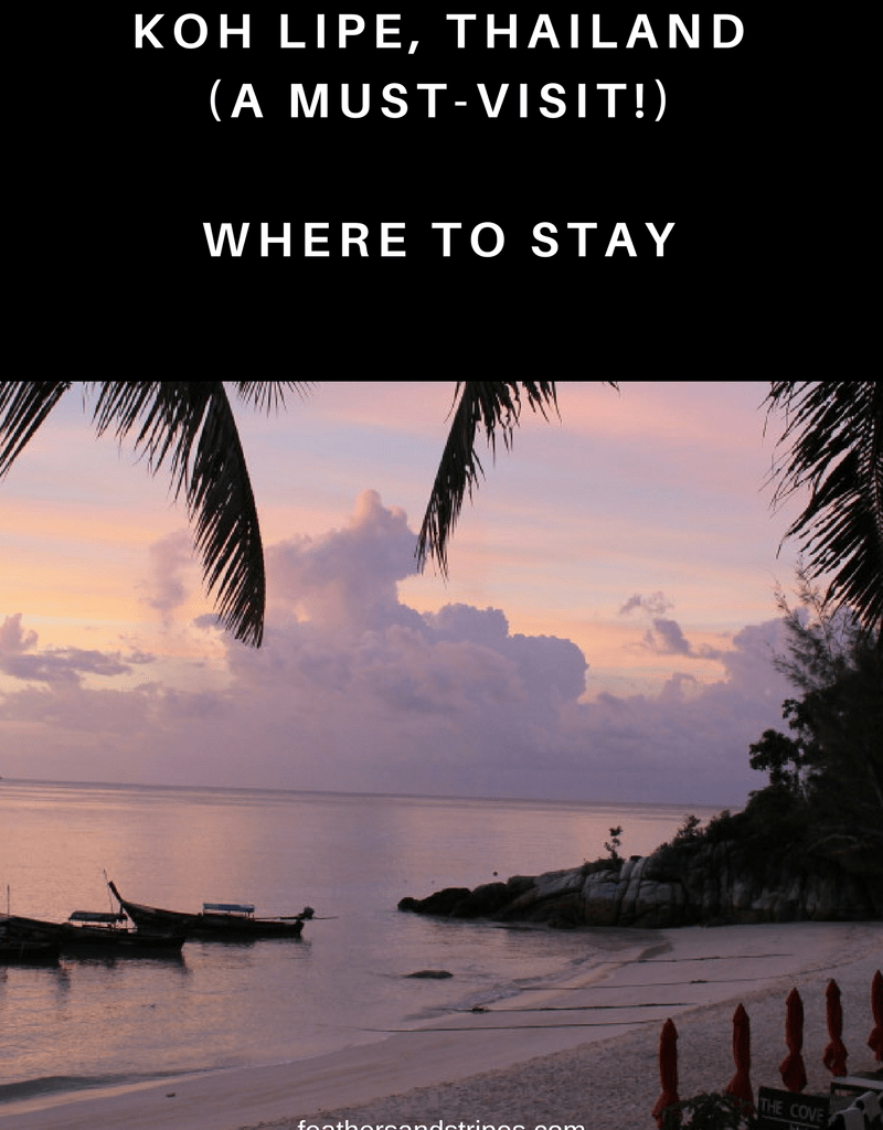 Where to Stay on Koh Lipe (Thailand)