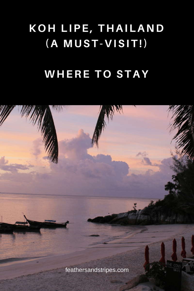 Where to stay in Koh Lipe, Thailand (Thai islands)