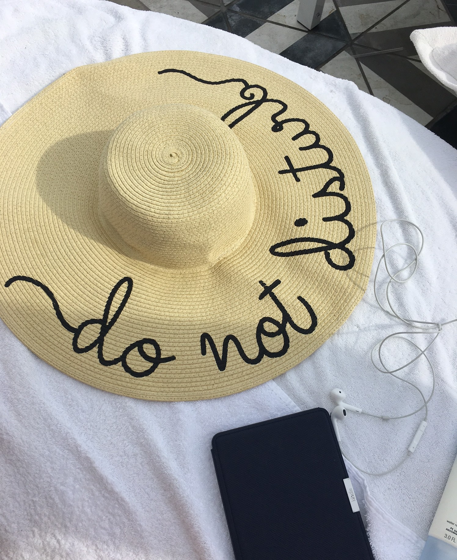 """Do not disturb"" hat under $20!"