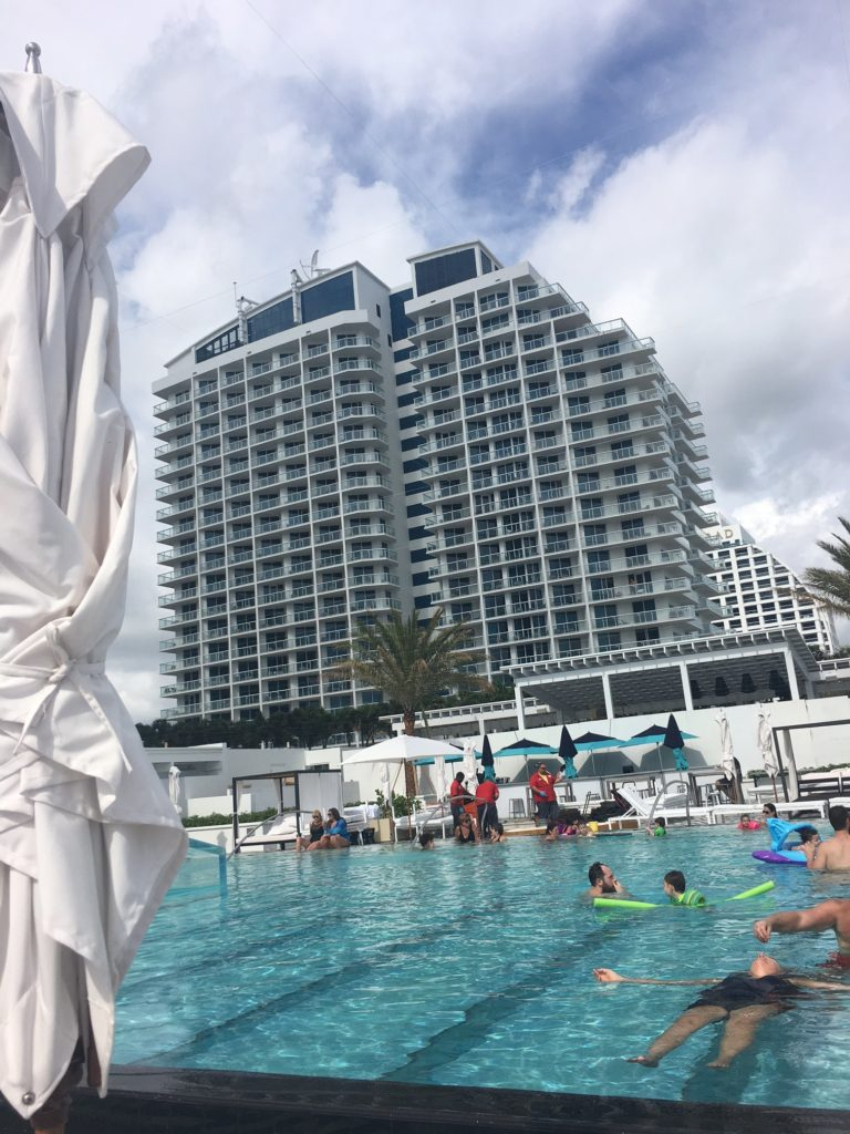 W Hotel Fort Lauderdale pool