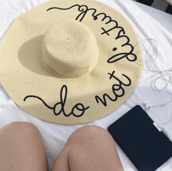 do not disturb hat under $25!