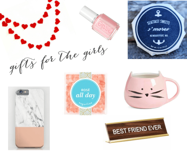Valentine's Day gifts for the girls - under $30