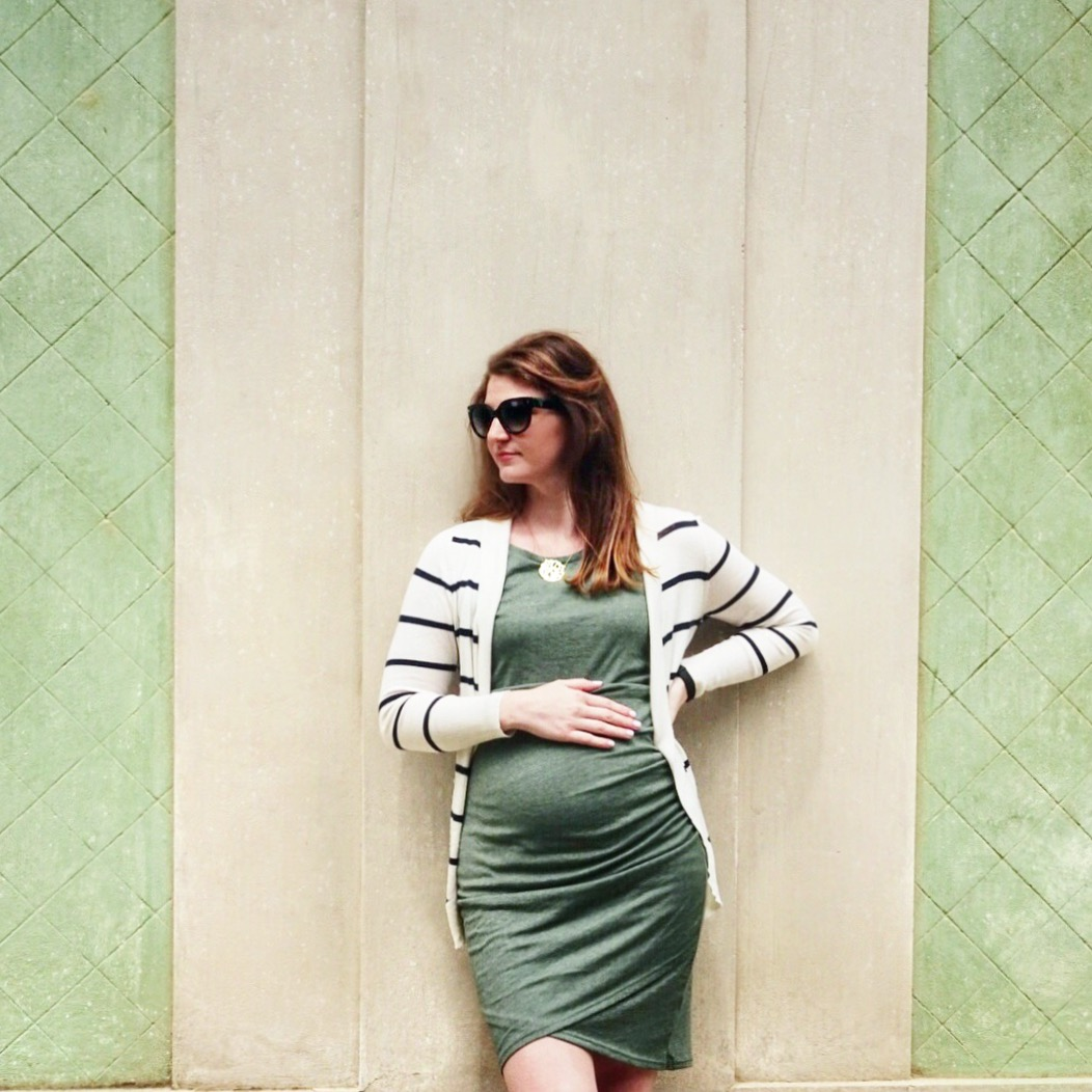 20 week bumpdate | Maternity Clothes Essentials featured by top Boston life and style blog, Feathers and Stripes
