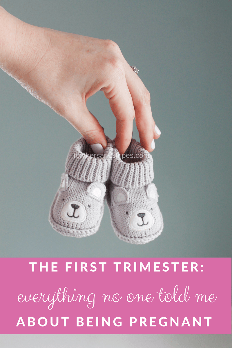 the first trimester: everything no one told me about being pregnant