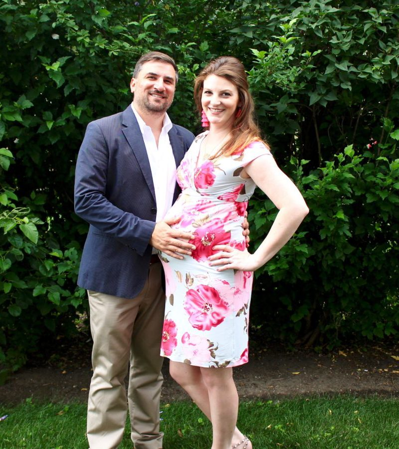 33 Week Bumpdate + Nursery Sneak Peek