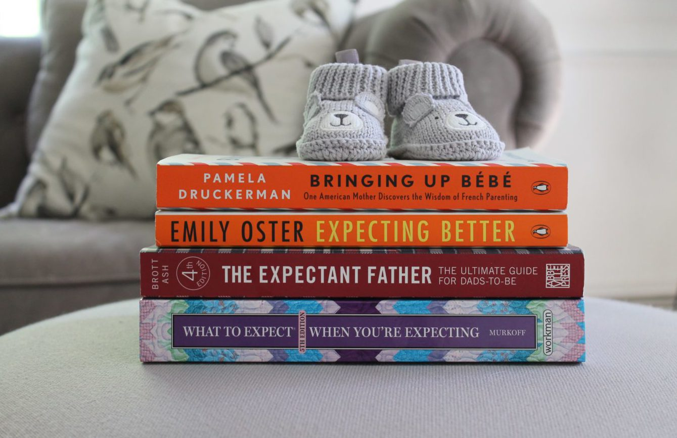 best pregnancy books and apps to read for your first baby
