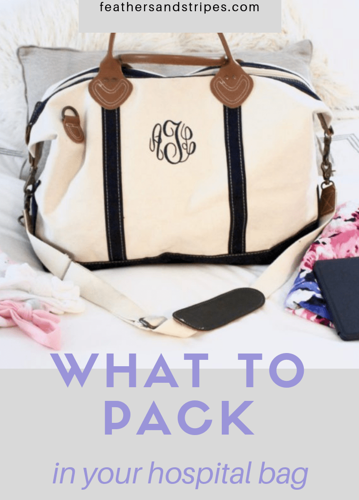 What's In My Hospital Bag + Hospital Bag Checklist