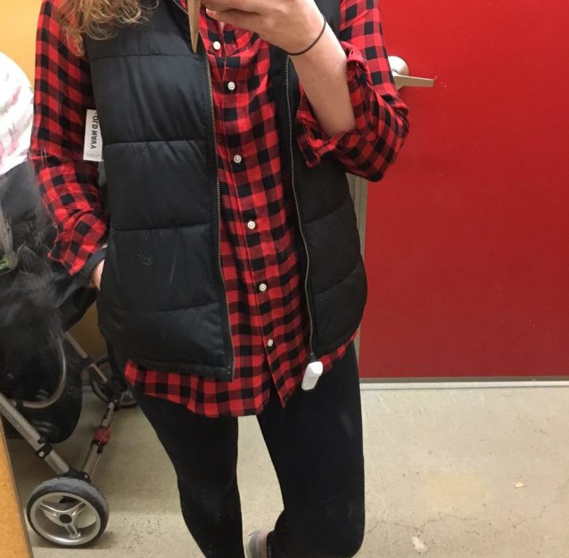 In the Dressing Room: Old Navy