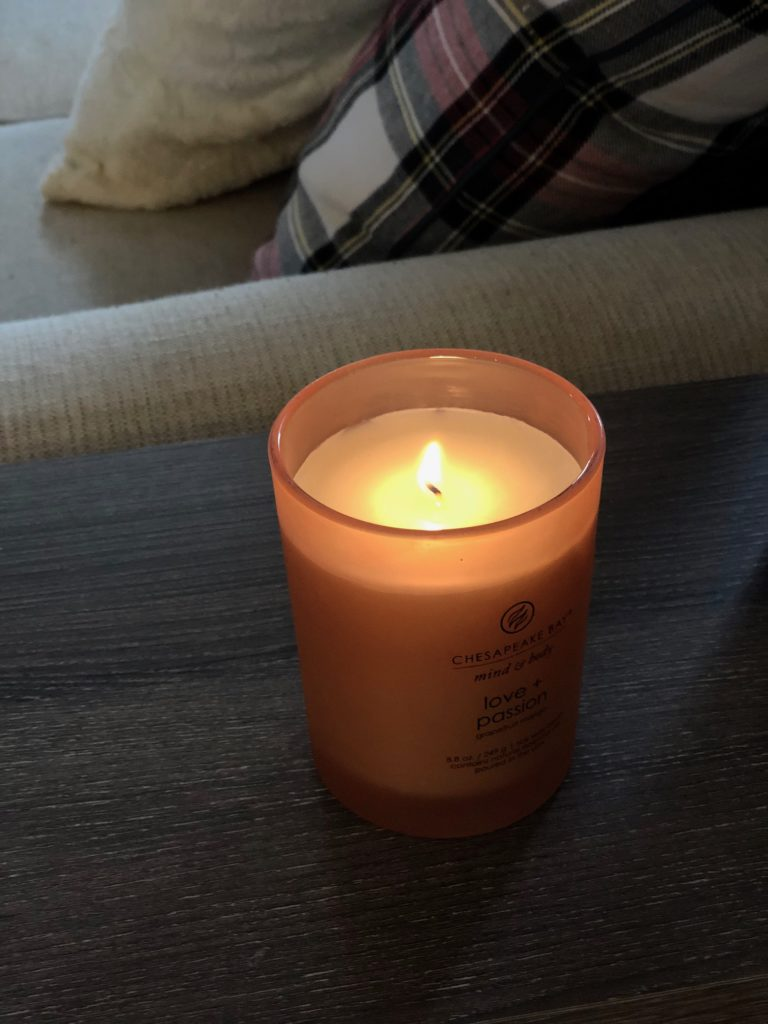 Chesapeake Bay candle mango scent