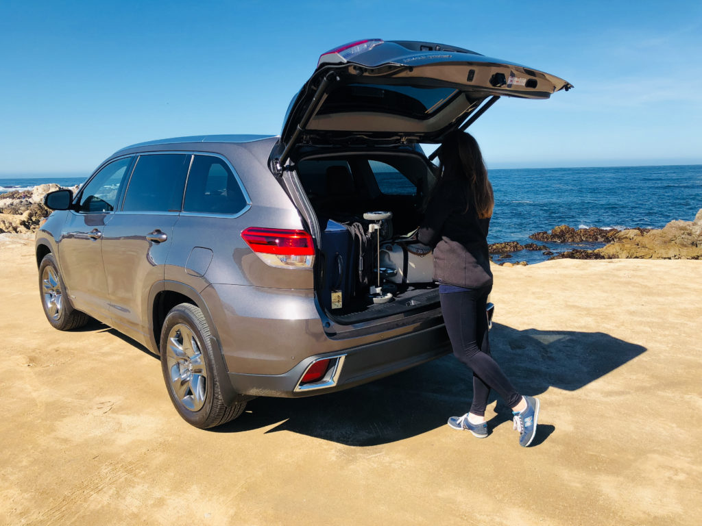 driving the Toyota Highlander down the PCH | Pacific Coast Highway Road Trip featured by top Boston travel blog, Feathers and Stripes