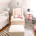 Eleanor's Pink and Gray Nursery