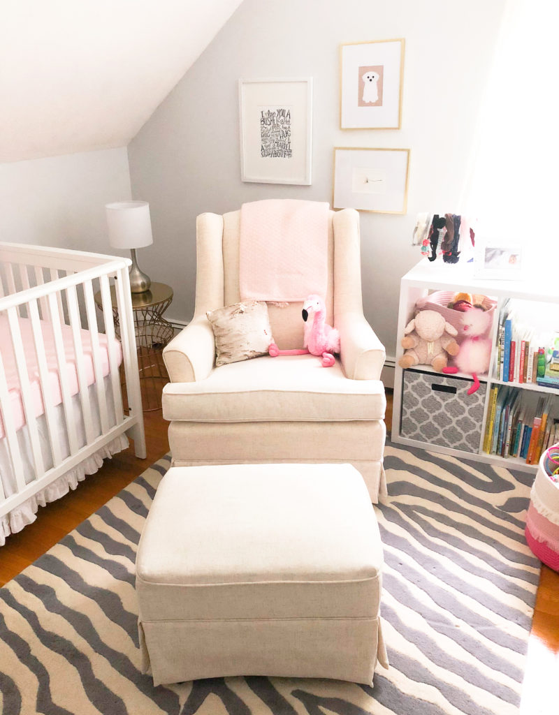 Eleanor's Pink and Gray Nursery